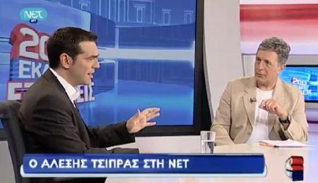 Από προνομιακός συνεντευξιαστής του Γιωργάκη τώρα στο πλευρό του Τσίπρα. Το κρατικοδιατηλίκι στα πιο Guinesssάτα ρεκόρ του.
